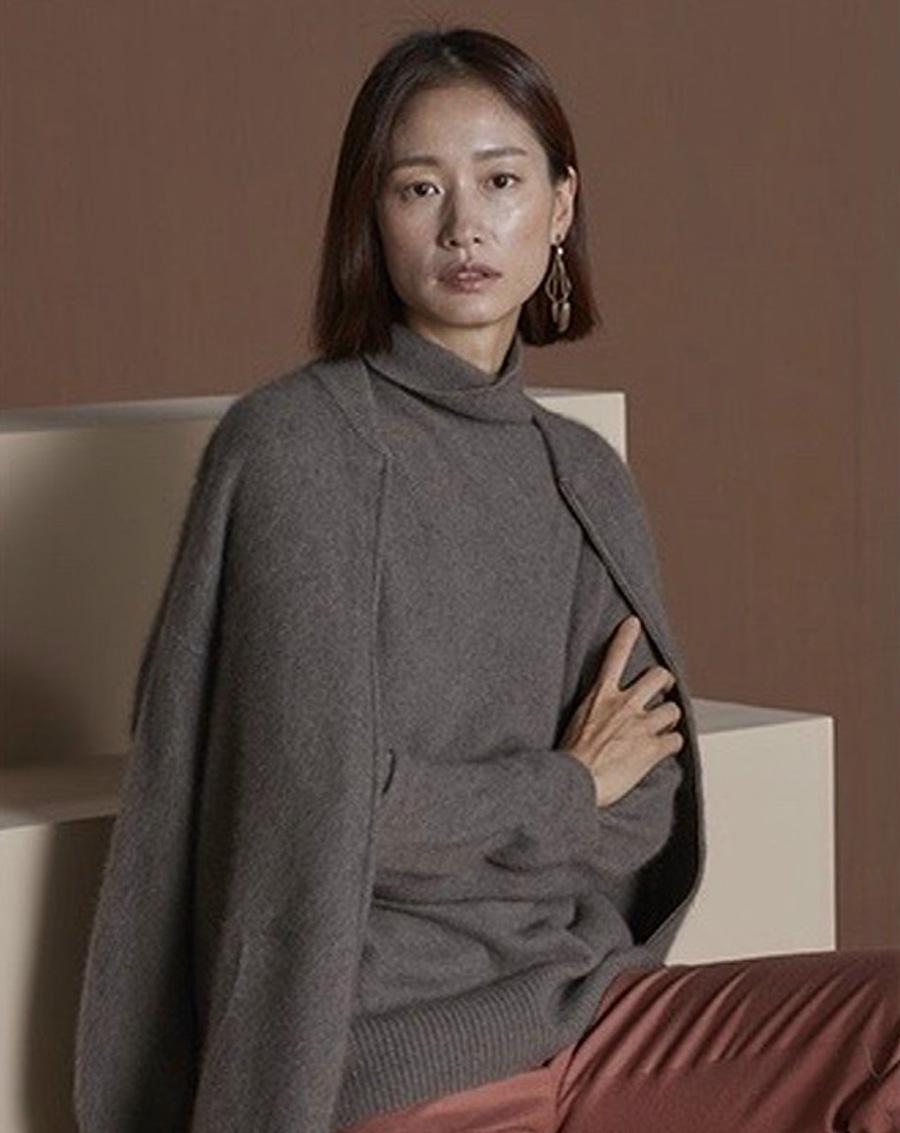 Áo len lông thú Xuất Hàn
