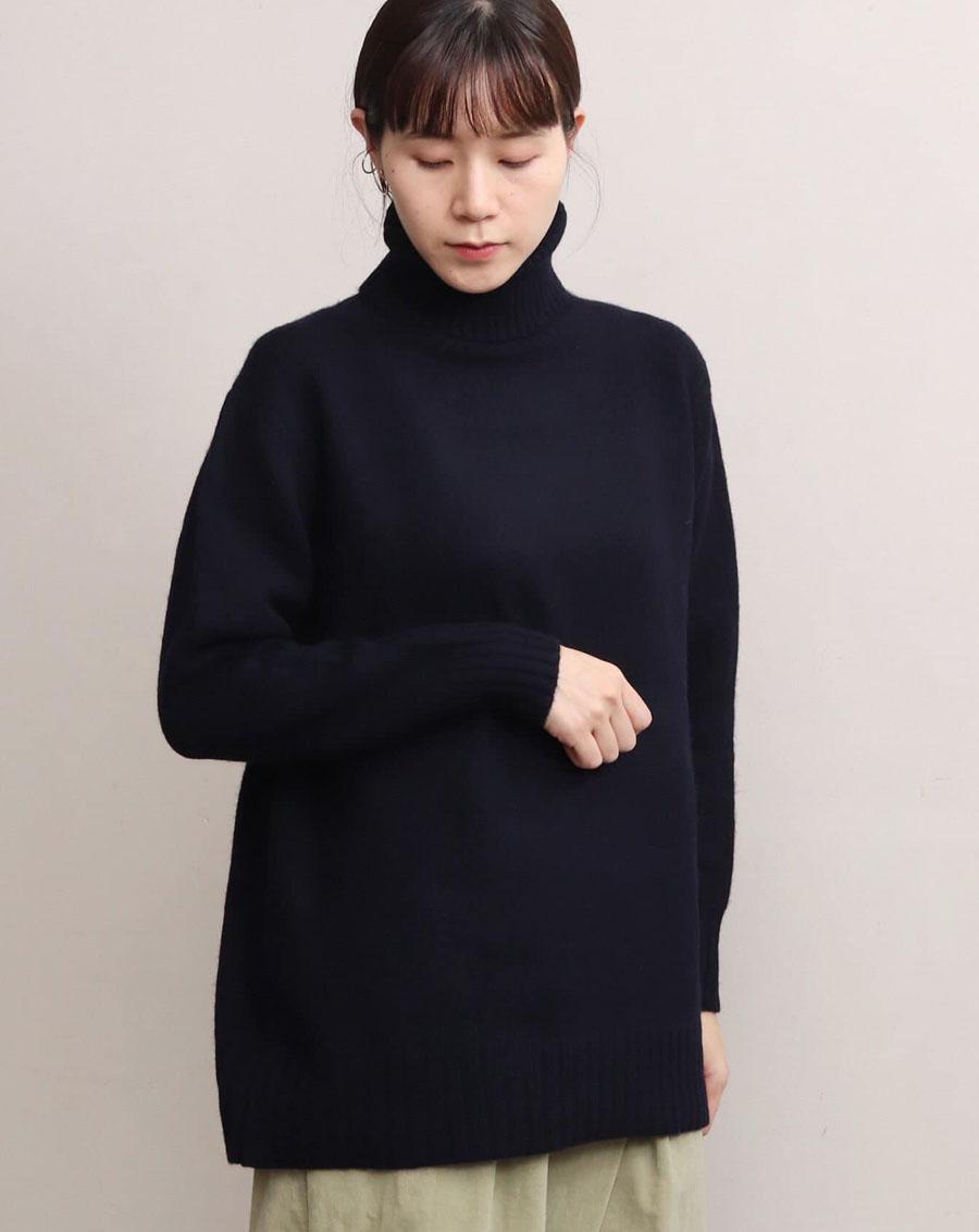 Áo len Nhật cổ lọ
