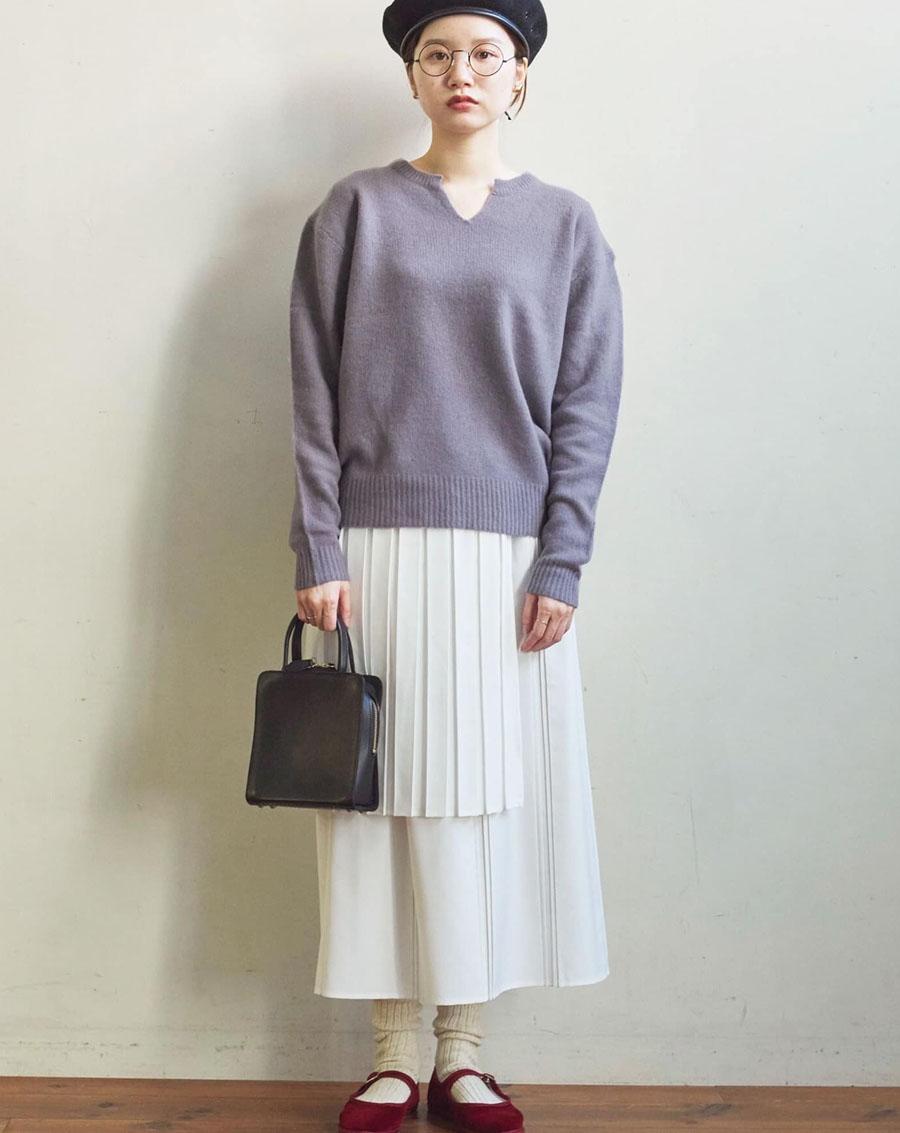 Áo len Nhật sợi lông thú