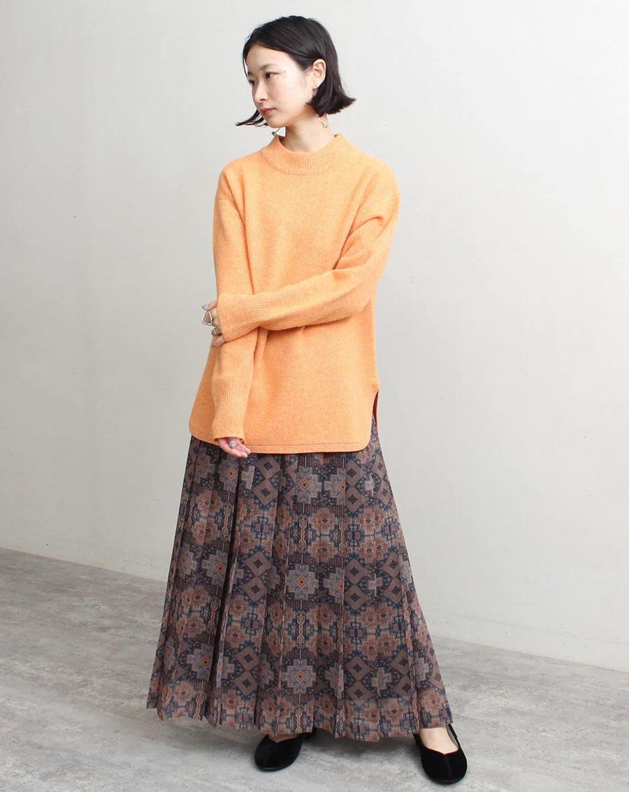 Áo len Nhật xẻ tà