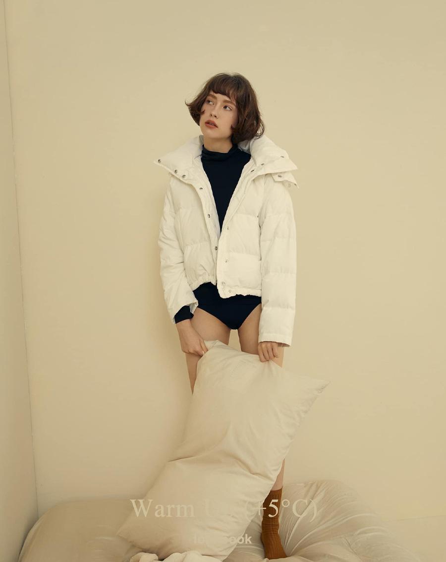 Áo phao Down Jacket Series trắng