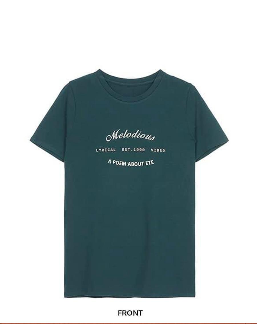 Áo phông chữ Melodious