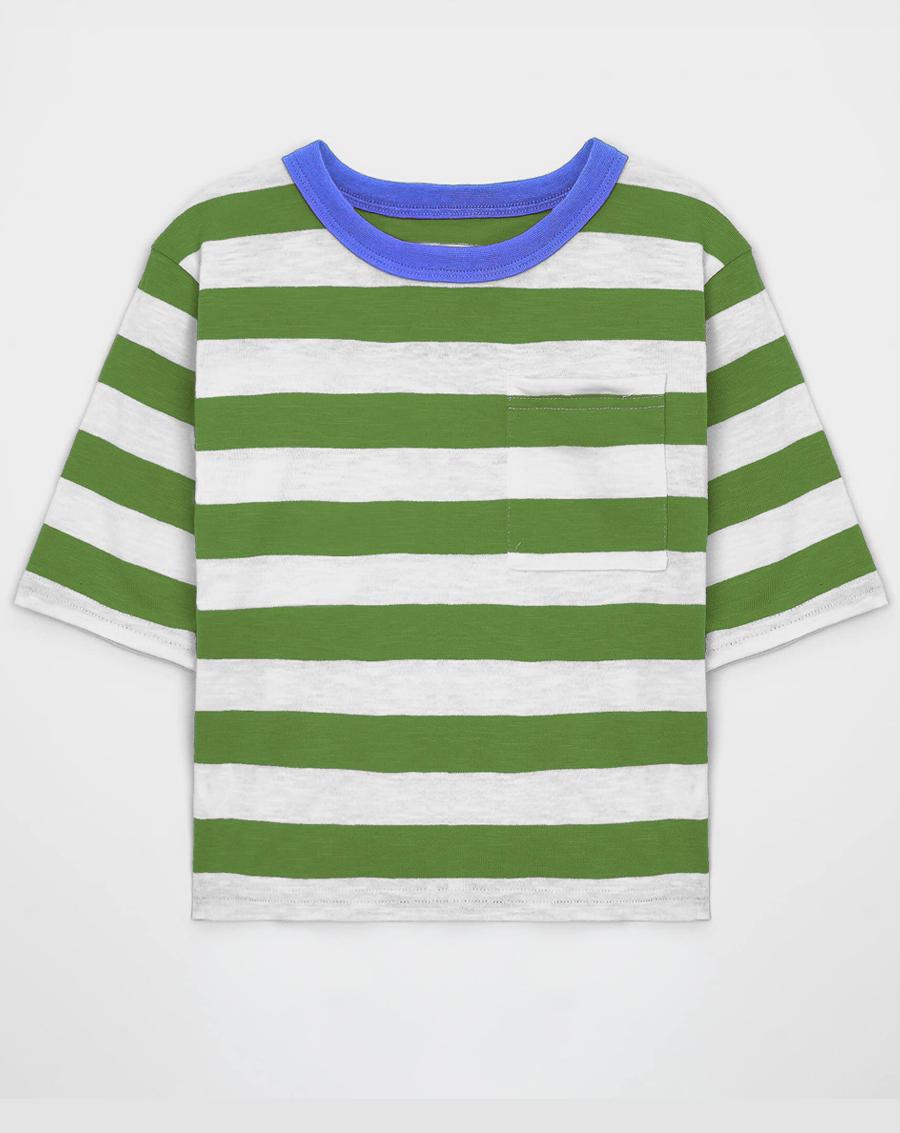 Áo phông kẻ cho bé