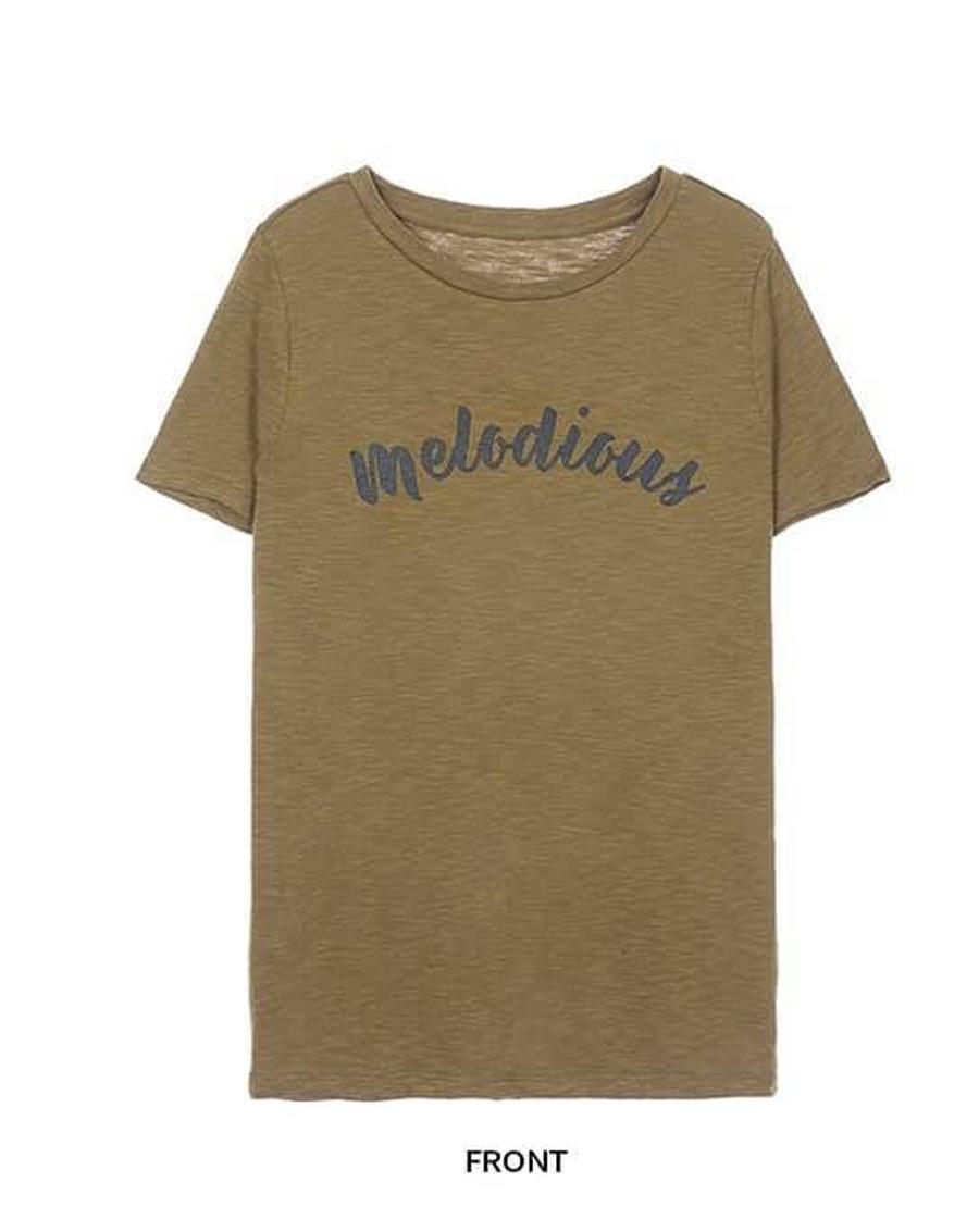 Áo phông Melodious chữ to